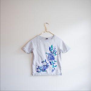 TEA Girls Embroidered Flower Sweater Shirt Top 10